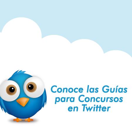 Gu�a para Concursos en Twitter